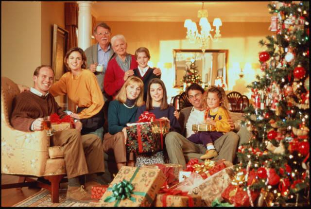 Как мы семьей проводим новый год